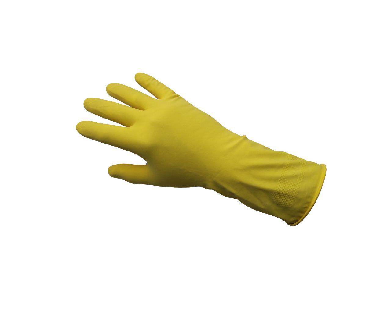 Profesjonalne rękawice gospodarcze KORSARZ, rozmiar L, żółte