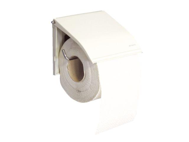 Uchwyt do papieru toaletowego metalowy,    kolor BIAŁY