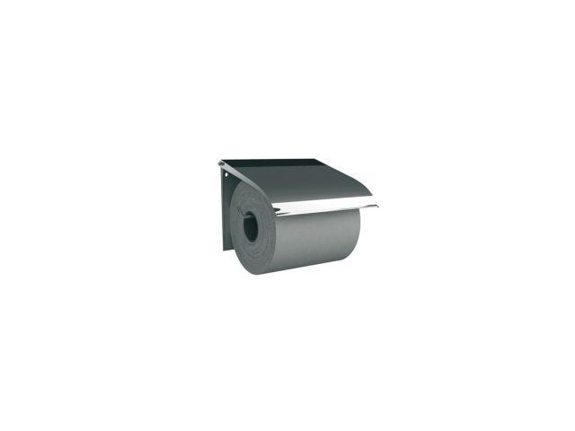 Uchwyt do papieru toaletowego metalowy,    STAL POLEROWANA