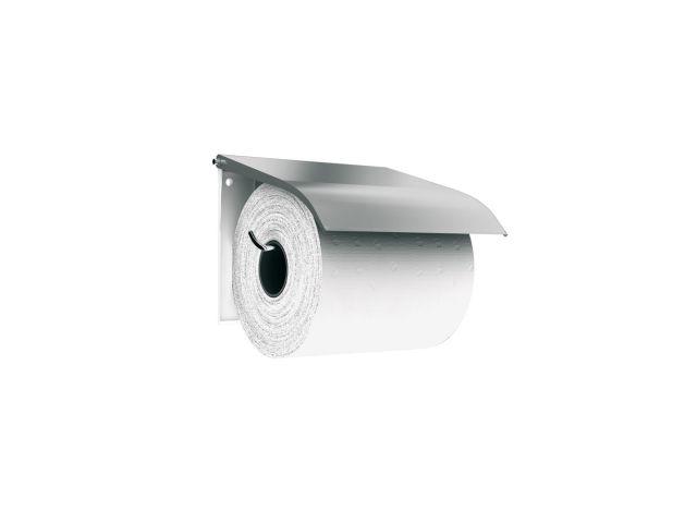 Uchwyt do papieru toaletowego metalowy,    STAL MATOWA