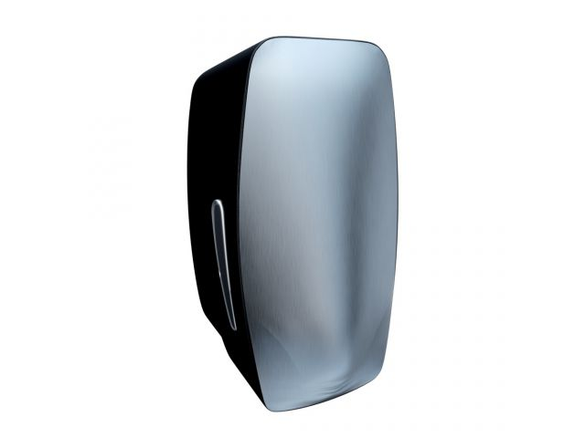 Dozownik mydła w płynie MERIDA MERCURY pojemność zbiornika 800 ml, z tworzywa ABS, czarny