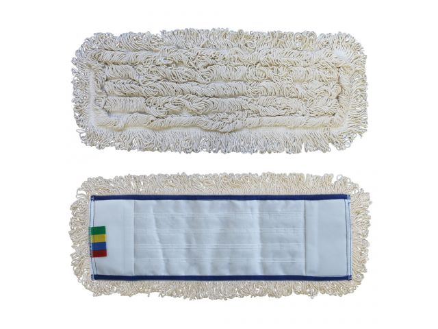 Mop z kieszeniami STANDARD bawełniany 50 cm