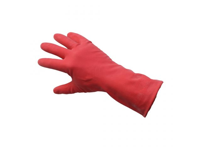 Profesjonalne rękawice gospodarcze KORSARZ, rozmiar L, czerwone