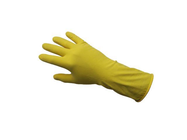 Profesjonalne rękawice gospodarcze KORSARZ, rozmiar M, żółte