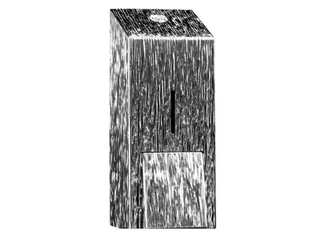 Dozownik mydła w pianie na jednorazowe wkłady z pompką spieniającą MERIDA INOX DESIGN MAXI - ICICLE
