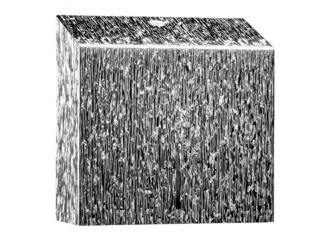 Pojemnik na ręczniki składane MERIDA INOX DESIGN MAXI - ICICLE