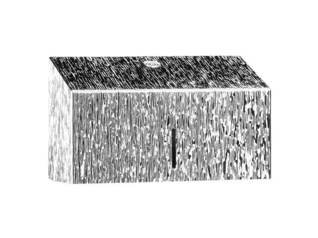 Pojemnik na ręczniki papierowe MERIDA INOX DESIGN MINI - ICICLE