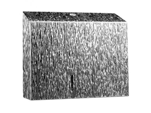 Pojemnik na papier toaletowy MERIDA INOX DESIGN DUO - ICICLE