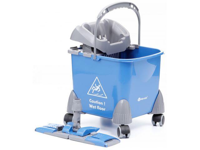 Wózek do sprzątania jednowiadrowy, wiadro 20 l, stelaż 40 cm