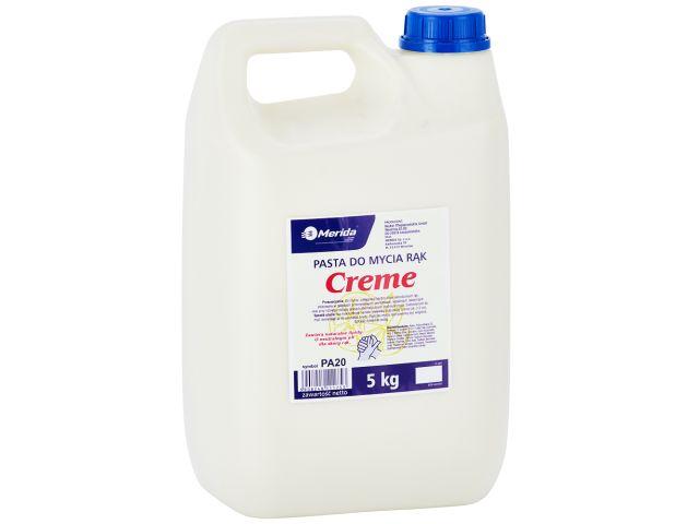 MERIDA pasta do mycia rąk CREME, kanister 5 l