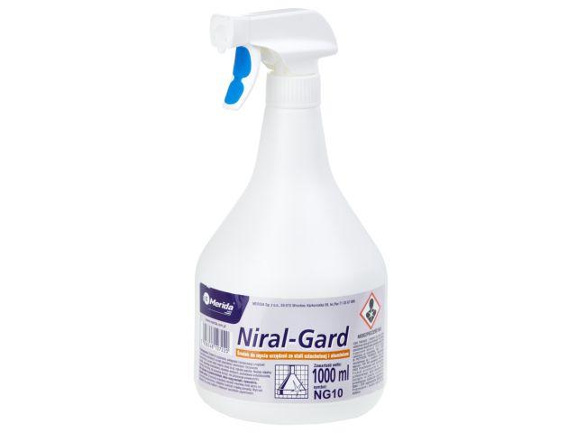 NIRAL GARD - gotowy środek do czyszczenia  i konserwacji urządzeń ze stali nierdzewnej, 1 l