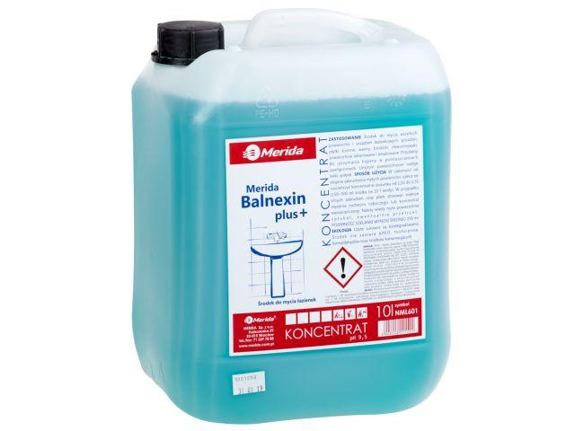 MERIDA BALNEXIN PLUS alkaliczny środek do bieżącej pielęgnacji łazienek, kanister 10 l