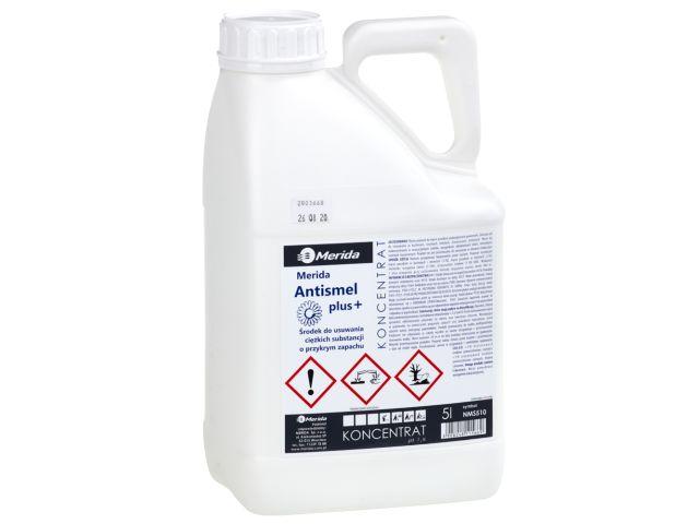 MERIDA ANTISMEL PLUS środek do usuwania ciężkich substancji i przykrych zapachów, kanister 5 l