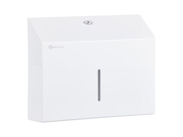 Pojemnik na ręczniki składane MERIDA STELLA SLIM MINI biały