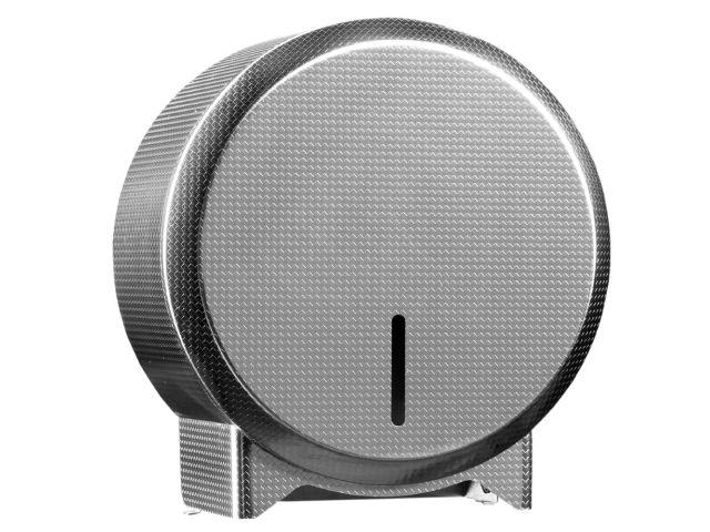 Pojemnik na papier toaletowy MERIDA INOX DESIGN MINI - TEXTURE