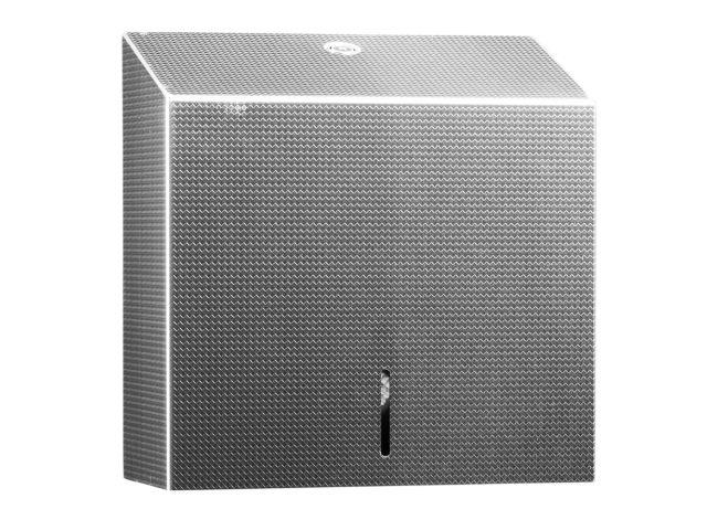 Pojemnik na ręczniki składane MERIDA INOX DESIGN MAXI -TEXTURE