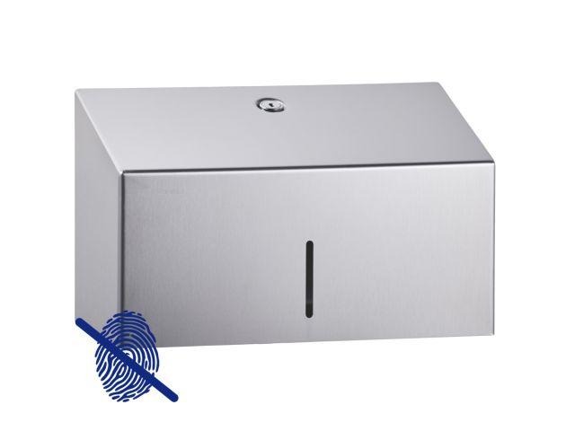 Pojemnik na ręczniki papierowe MERIDA STELLA Anti-FingerPrint MINI stal matowa z powłoką FPP