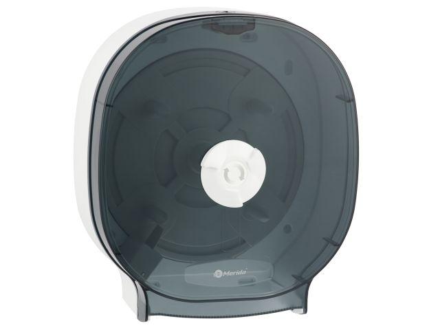 Pojemnik na cztery rolki papieru toaletowego bez gilzy MERIDA ONE biały