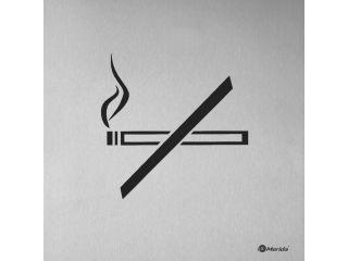 Grawerowana laserowo tabliczka informacyjna - zakaz palenia