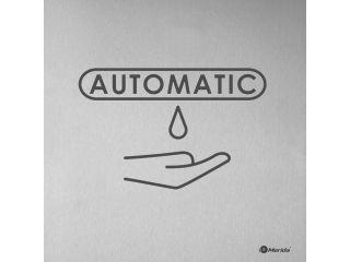 Grawerowana laserowo tabliczka informacyjna - dozownik automatyczny