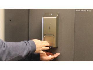 3. Wymiana wkładu z mydłem w pianie w dozowniku MERIDA STELLA ADVANCED R10.