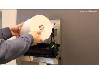 5. Wymiana wkładu i obsługa mechanicznego podajnika ręczników papierowych w rolach (CSM302).