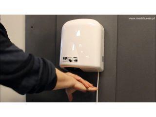 14. Obsługa suszarki do rąk ECOFLOW Plus, z tworzywa ABS, biała (EJB102)