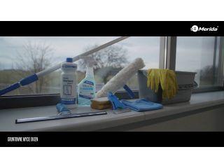 5. Gruntowne mycie okien.
