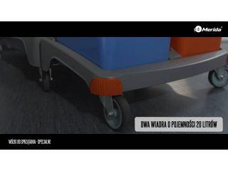4. Wózki do sprzątania - specjalne.