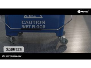 Wózki do sprzątania jednowiadrowe.