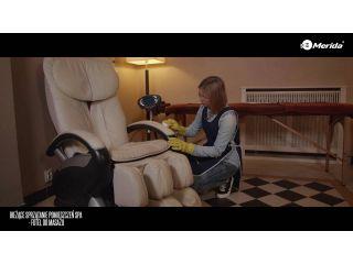 Bieżące sprzątanie pomieszczeń SPA - fotel do masażu